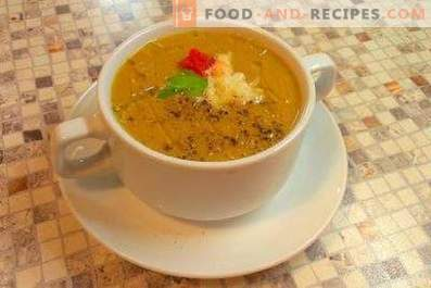 Супа със сметана за баклажани