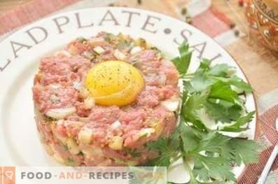 Тартар от говеждо месо