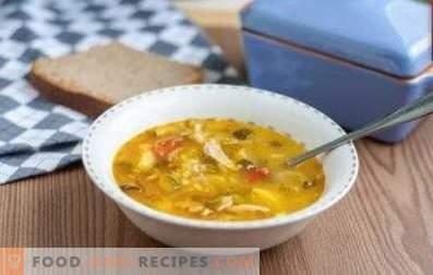 Расолник с пиле и ориз