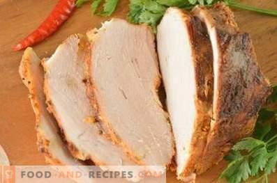 Запечено свинско месо във фолио във фурната