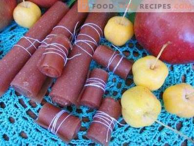 Бонбони от плодове на ябълка