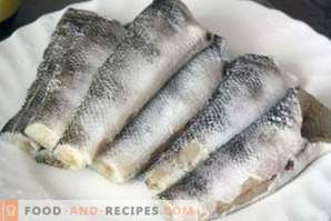 риба Nototion: рецепти за готвене