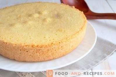 Бисквитена торта за мускулест кекс