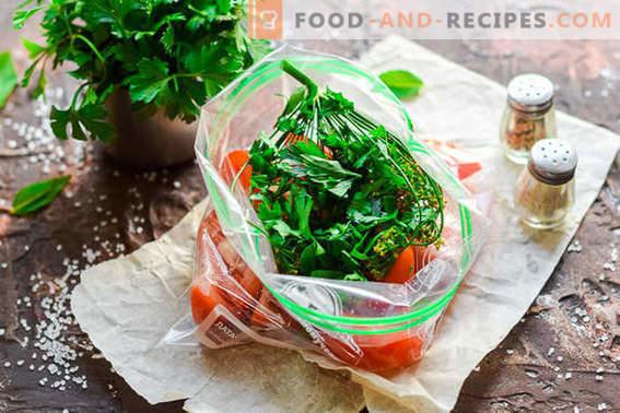Леко осолени домати в опаковка за 2 часа: идеален за пикник