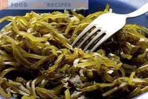 Калорично съдържание на морски водорасли