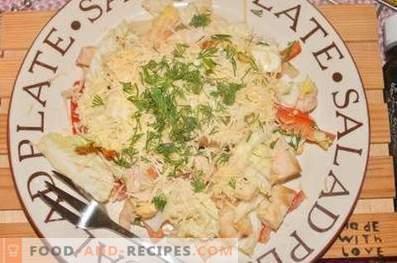 Протеинова салата с бита зеленчуци
