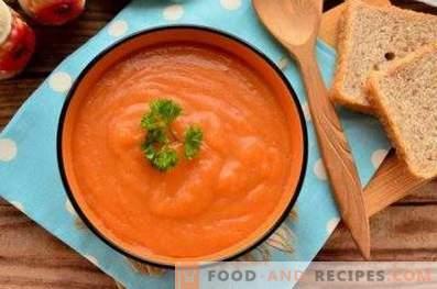 Пюре от моркови