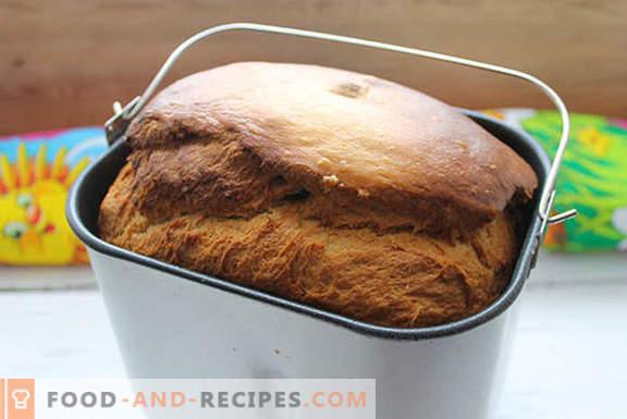 Истински кекс със стафиди в хлебопекарни по рецепти на нашите баби