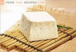 Тофу сирене: полза и вреда