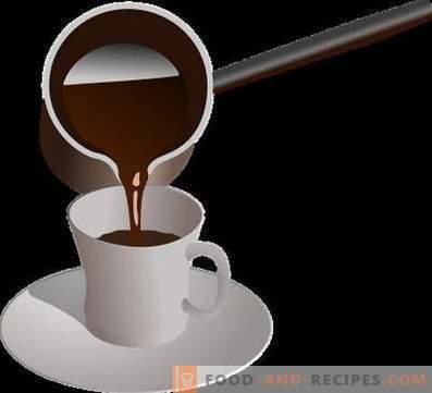 Как се прави кафе в турците