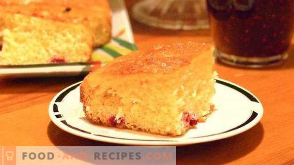 Торта с боровинки на кефир