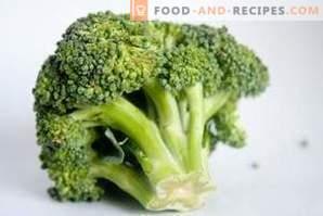 Как да замразите зелето от броколи