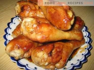 Пържени пилешки пръчици в тенджера