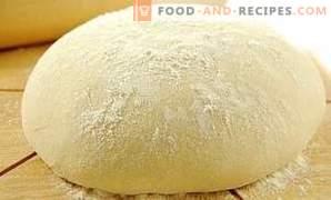 Как се съхранява тесто за дрожди