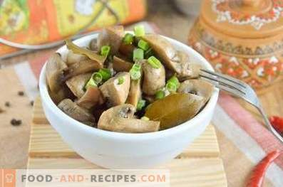 Морски мариновани печурки