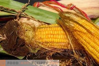 Как да съхранявате царевица