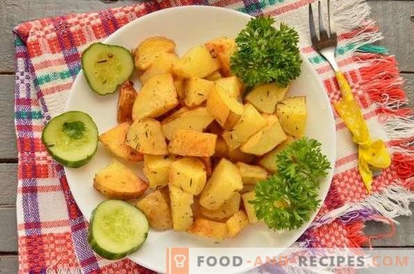 Нови картофи във фурната