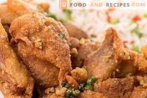Какви подправки са подходящи за пилешко месо