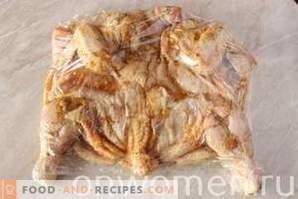 Пилешки тютюн в тенджерата