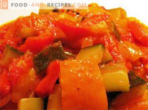 Zucchini lecho за зимата
