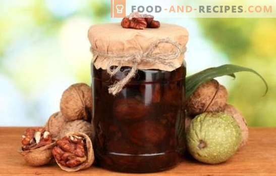 Вареното вар без вар е вкусен и здравословен деликатес. Как да си направим различни видове сладко от орехи без вар?