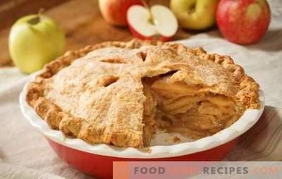 Вкусни постни пайове с ябълки, конфитюр, зеле: как да ги приготвяте правилно на тесто. Тайната на вкусни сладкиши