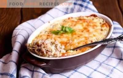 Елда с мляно пиле е здравословно ястие. Най-добрите рецепти за елда с мляно пиле със зеленчуци, гъби, сирене