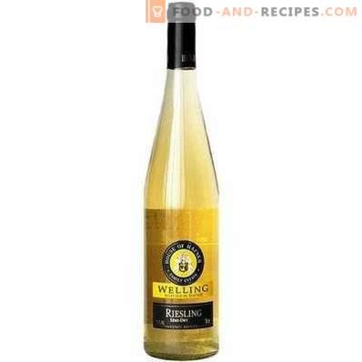 Какво пият бели полусухо вино