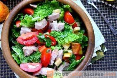 Облекло за салата от пресни зеленчуци