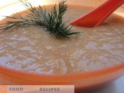 Зеленчукова супа от сметана