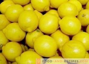 Как да съхраняваме лимони