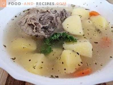 Картофена супа в бавен котлон