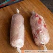 Диетичен ролов говеждо с пилешко филе