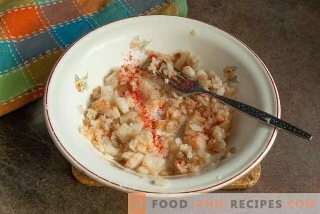 Рибни пити с минтаи и пържени картофи