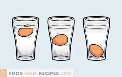 Come verificare se un uovo è marcio o meno