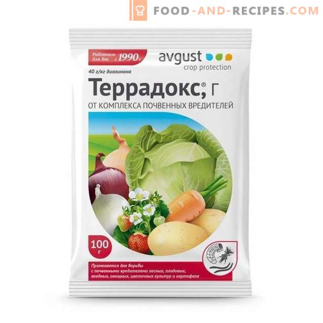 """""""Terradoks"""" - a reliable remedy for soil pests"""